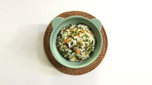[후기] 미역 당근 소고기 진밥